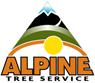 alpine tree - logo